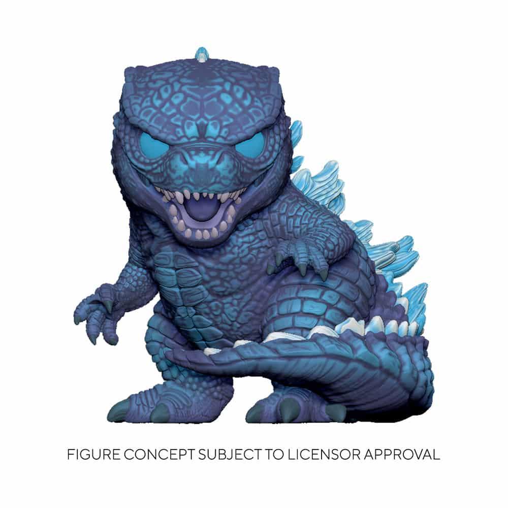 Funko Pop! Animation Godzilla vs. Kong - Godzilla (City Lights) Funko Pop! Vinyl Figure- Walmart Exclusive