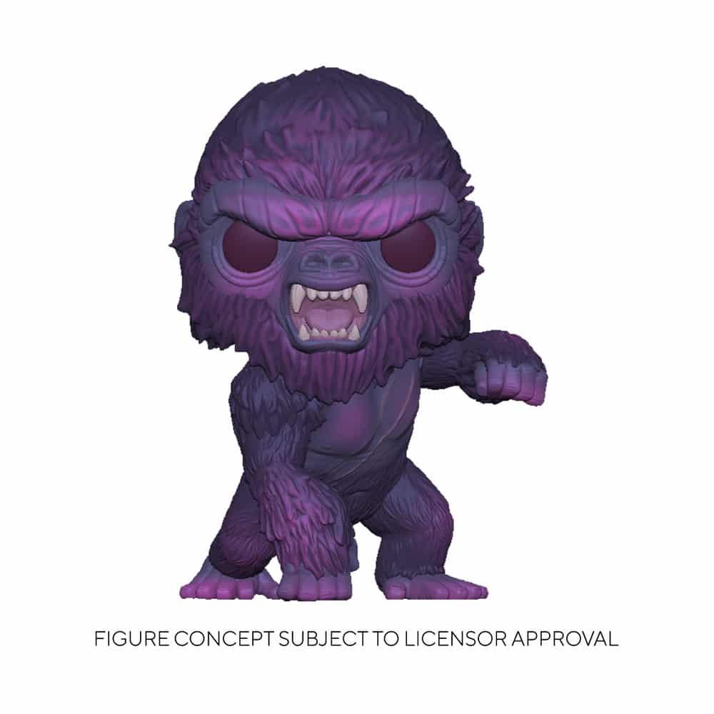 Funko Pop! Animation Godzilla vs. Kong - Kong (City Lights) Funko Pop! Vinyl Figure - Walmart Exclusive