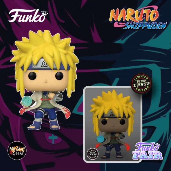 Funko Pop! Animation: Naruto Shippuden - Minato Namikaze Rasengan With a Glow-In-The-Dark (GITD) Chase Funko Pop! Vinyl Figure - AAA Anime Exclusive