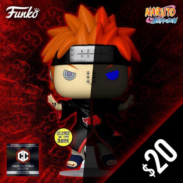 Funko Pop! Animation: Naruto Shippuden - Nagato (Pain) Glow-In-The-Dark (GITD) Funko Pop! Vinyl Figure - Chalice Collectibles Exclusive