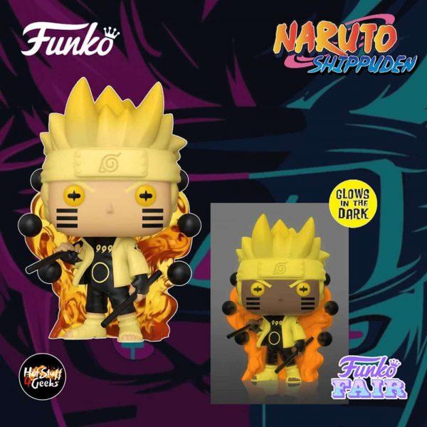 Funko Pop! Animation: Naruto Shippuden - Six Path Sage Glow-In-The-Dark (GITD) Funko Pop! Vinyl Figure - Specialty Series Exclusive