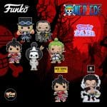 Funko Pop! Animation: One Piece - Sabo, Luffy in Kimono, Brook, Crocodile, Roronoa Zoro, Luffy (Gear 4th) and Luffy in Kimono Funko Funko Pop! Vinyl Figures