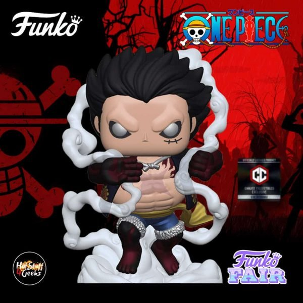 Funko Pop! Animation One Piece - Luffy (Gear 4th) Funko Pop! Vinyl Figure - Chalice Collectibles Exclusive