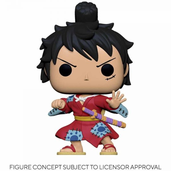 Funko Pop! Animation One Piece - Luffy in Kimono Funko Pop! Vinyl Figure