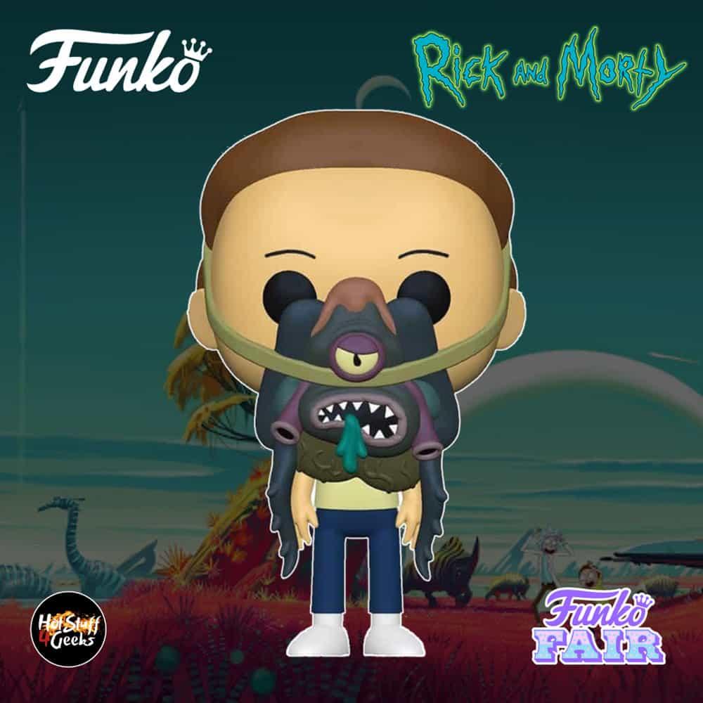 Funko Pop! Animation Rick and Morty - Morty with Glorzo Funko Pop! Vinyl Figure