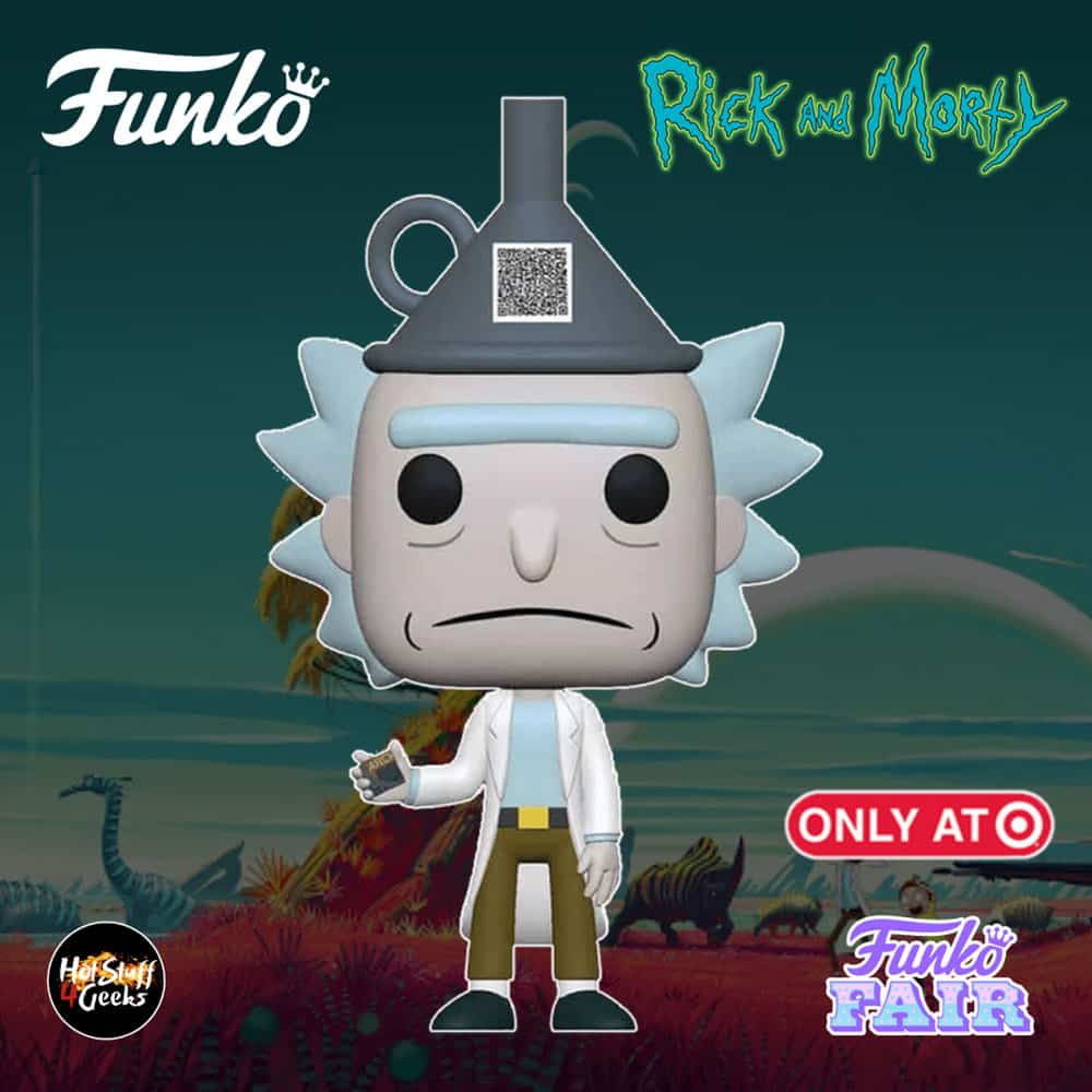 Funko Pop! Animation Rick and Morty - Rick with Funnel Hat Funko Pop! Vinyl Figure - Target Exclusive