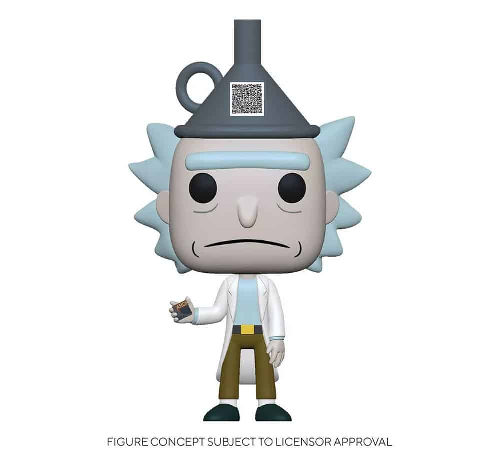 Funko Pop! Animation Rick and Morty - Rick with Funnel Hat Funko Pop! Vinyl Figure- Target Exclusive