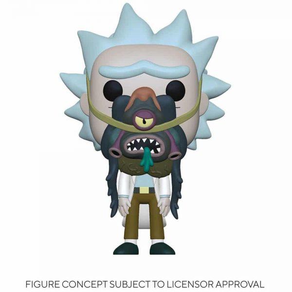 Funko Pop! Animation Rick and Morty - Rick with Glorzo Funko Pop! Vinyl Figure
