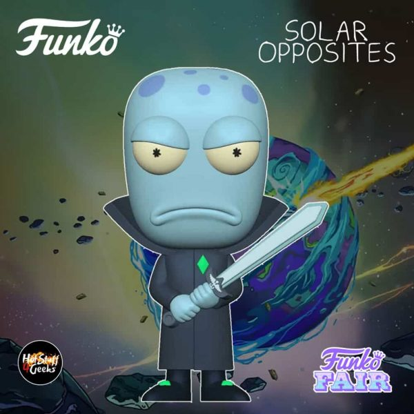 Funko Pop! Animation Solar Opposites - Korvo Funko Pop! Vinyl Figure