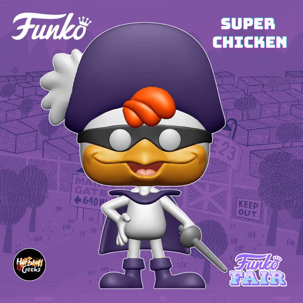Funko Pop! Animation: Super Chicken Funko Pop! Vinyl Figure