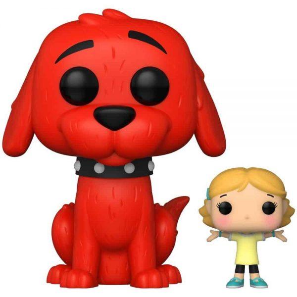 Funko Pop! Books Clifford the Big Red Dog Clifford with Emily Elizabeth Funko Pop! Vinyl Figure