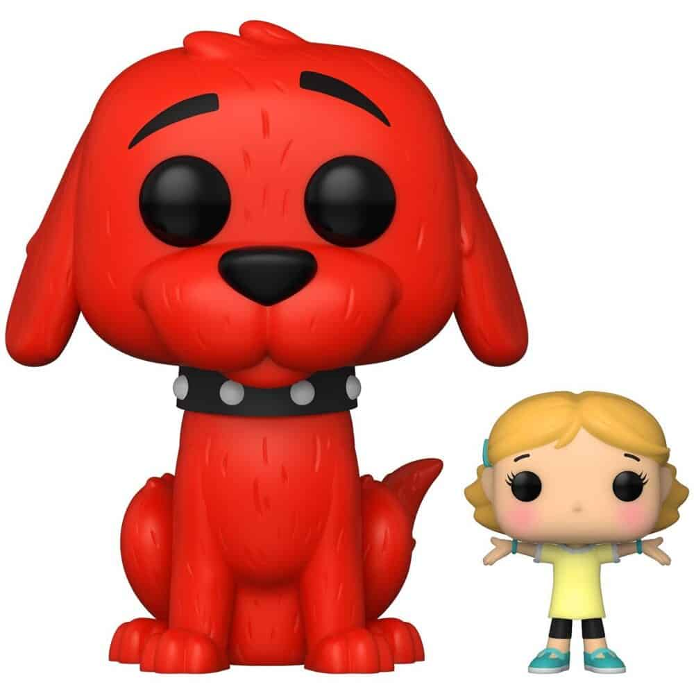 Funko Pop! Books Clifford the Big Red Dog Clifford with Emily Elizabeth Funko Pop! Vinyl Figure