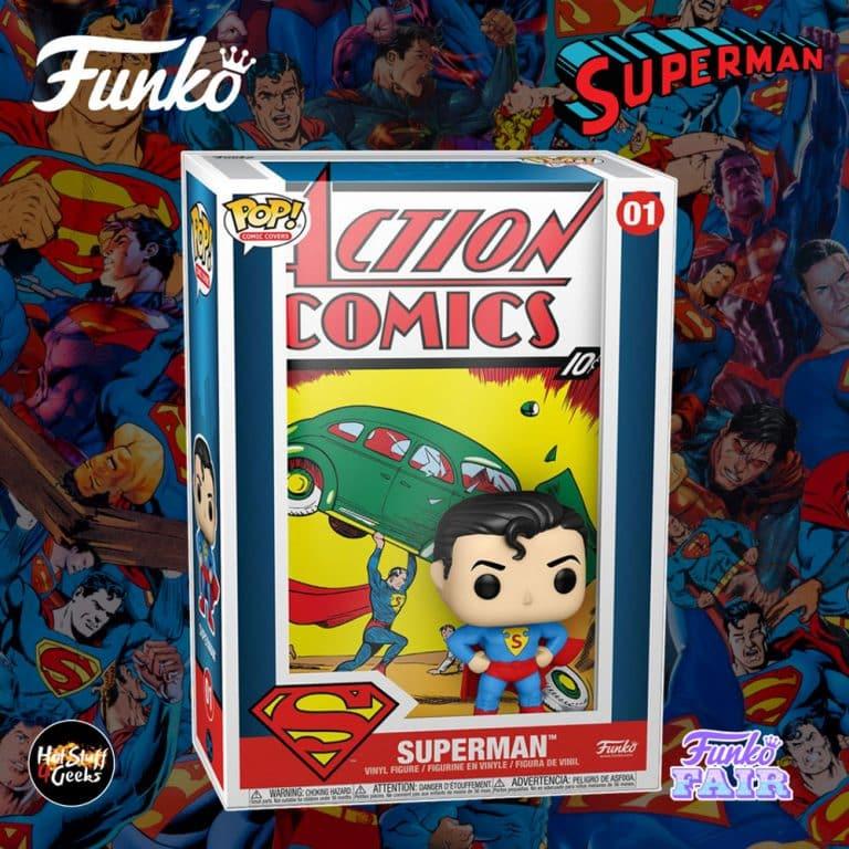 Funko Pop! Comic Covers: Superman Action Comics Funko Pop! Vinyl Figure - Funko Fair 2021