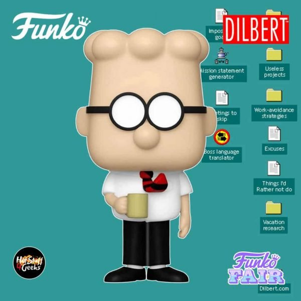 Funko Pop! Comics Dilbert Funko Pop! Vinyl Figure