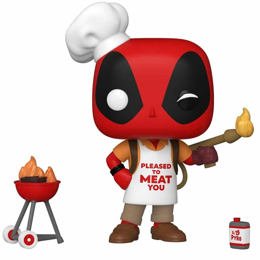 Funko Pop! Deadpool 30th Anniversary - Backyard Griller Deadpool Funko Pop! Vinyl Figure