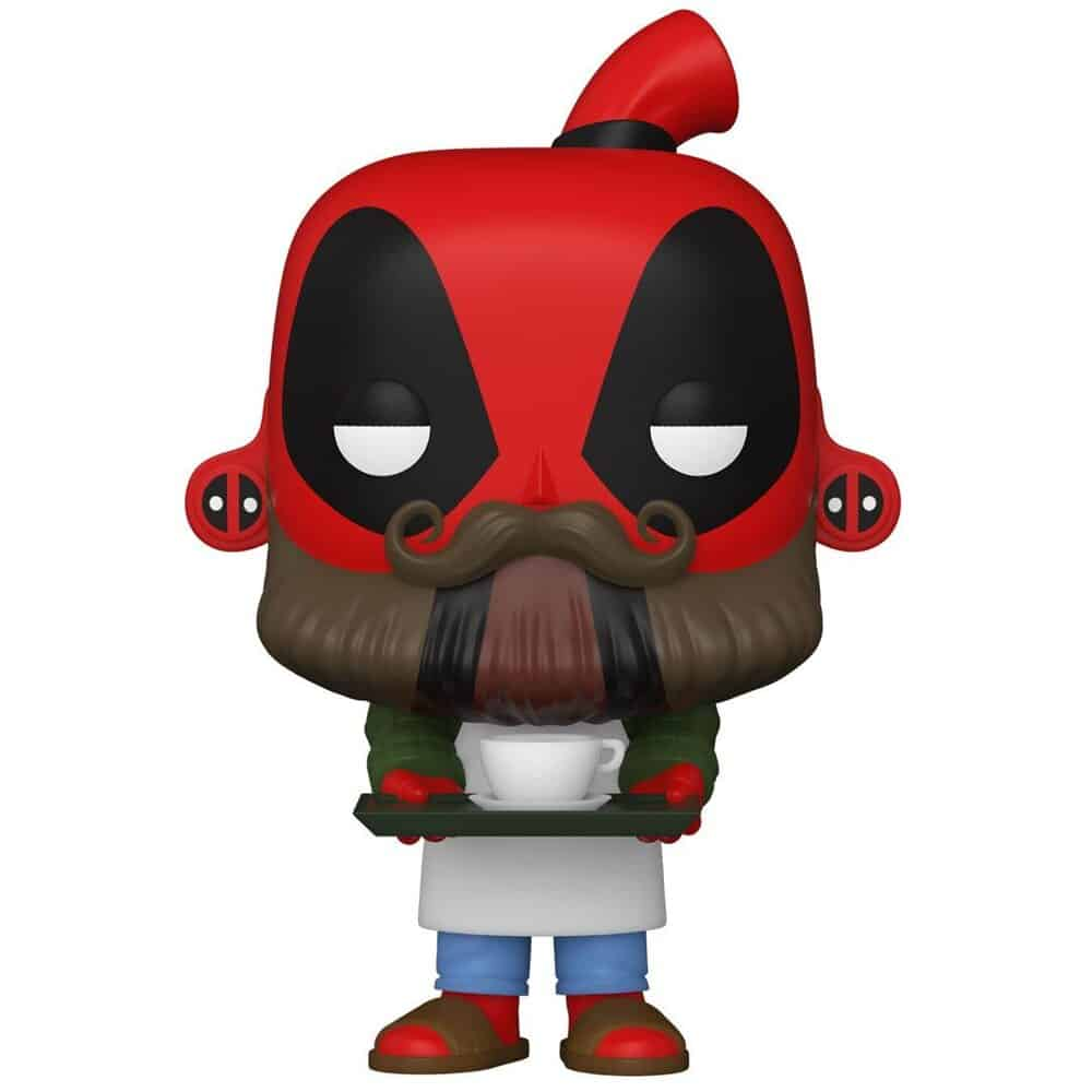 Funko Pop! Deadpool 30th Anniversary - Coffee Barista Deadpool Funko Pop! Vinyl Figure