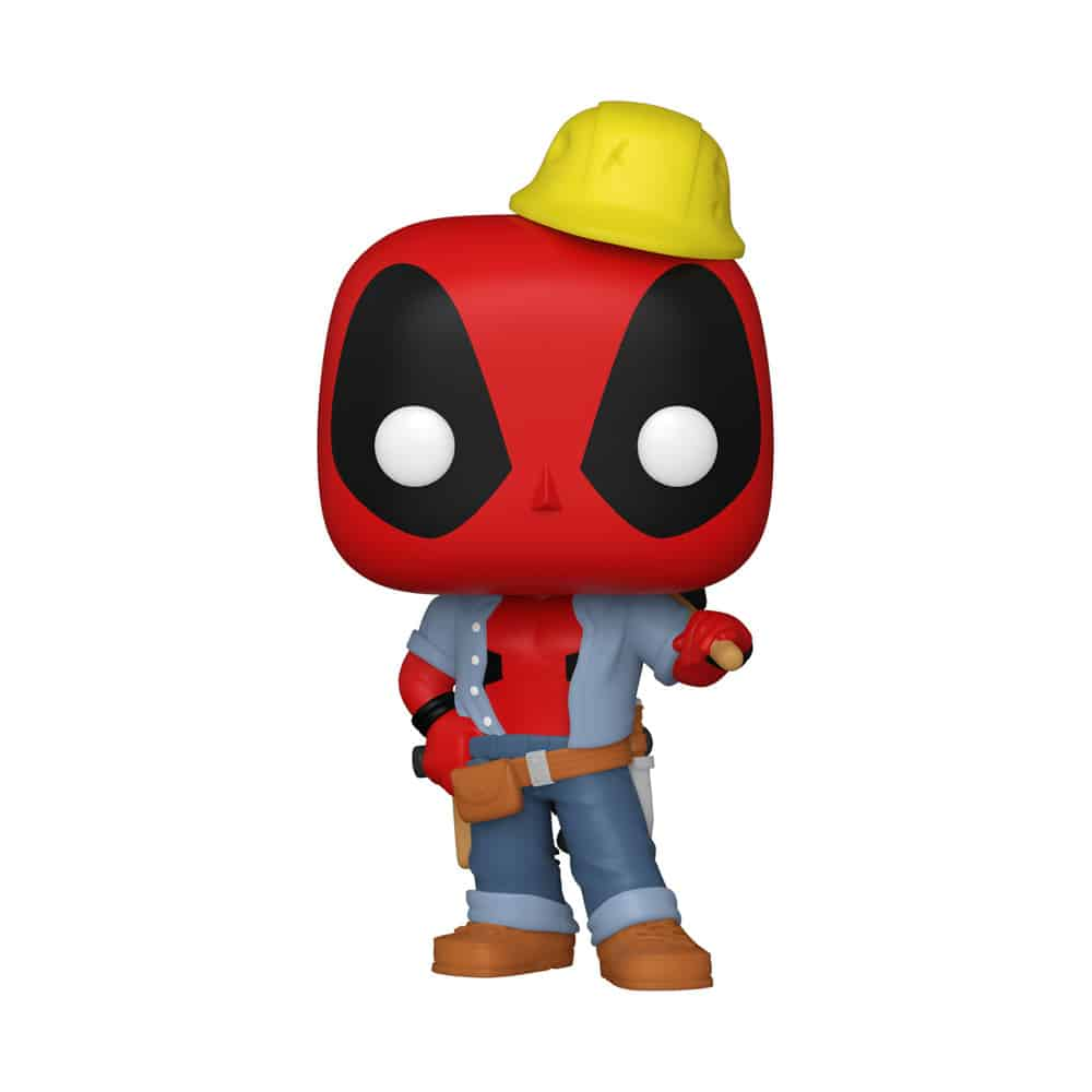 Funko Pop! Deadpool 30th Anniversary - Construction Worker Deadpool Funko Pop! Vinyl Figure - Walmart Exclusive
