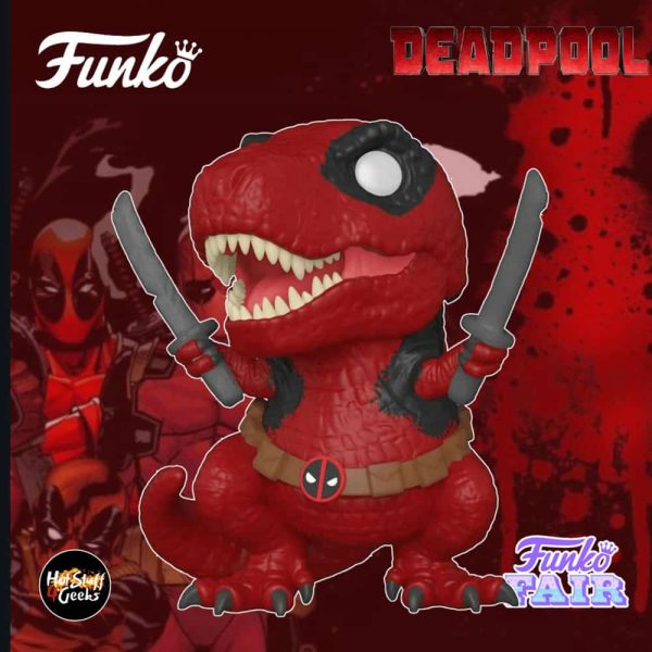 Funko Pop! Deadpool 30th Anniversary - Dinopool Funko Pop! Vinyl Figure