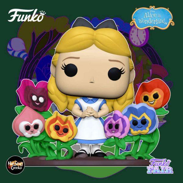 Funko Pop! Deluxe Disney - Alice in Wonderland 70th Anniversary - Alice with Flowers Funko Pop! Vinyl Figure