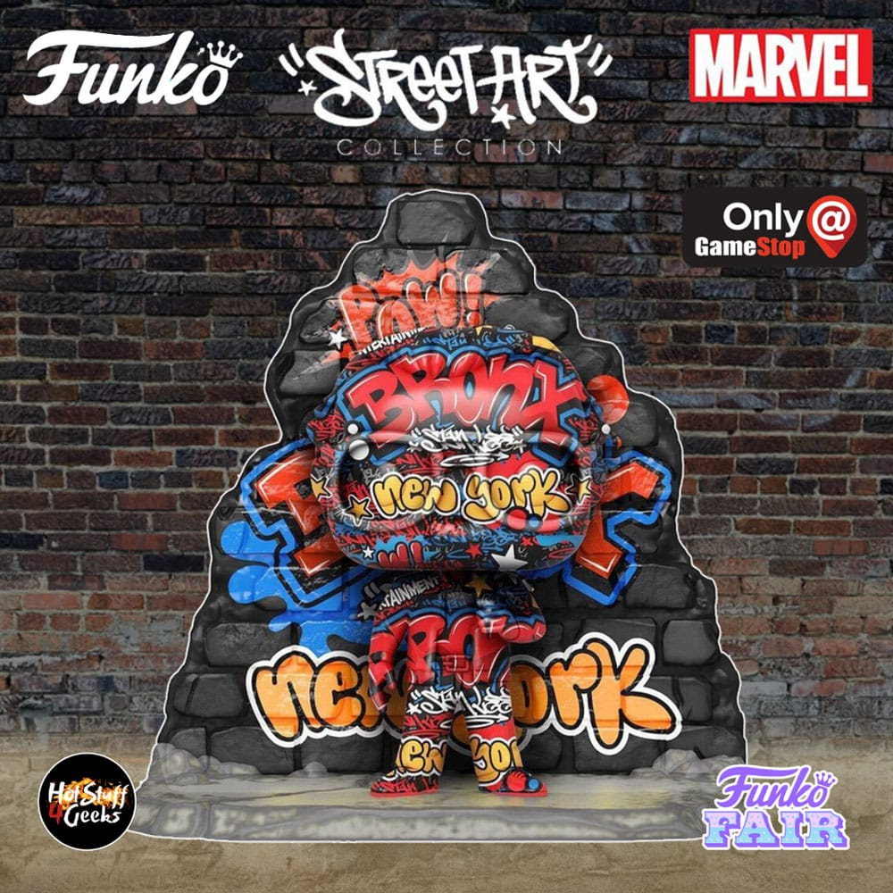Funko Pop! Deluxe: Marvel Street Art Collection – Stan Lee Funko Pop! Vinyl Figure – GameStop Exclusive