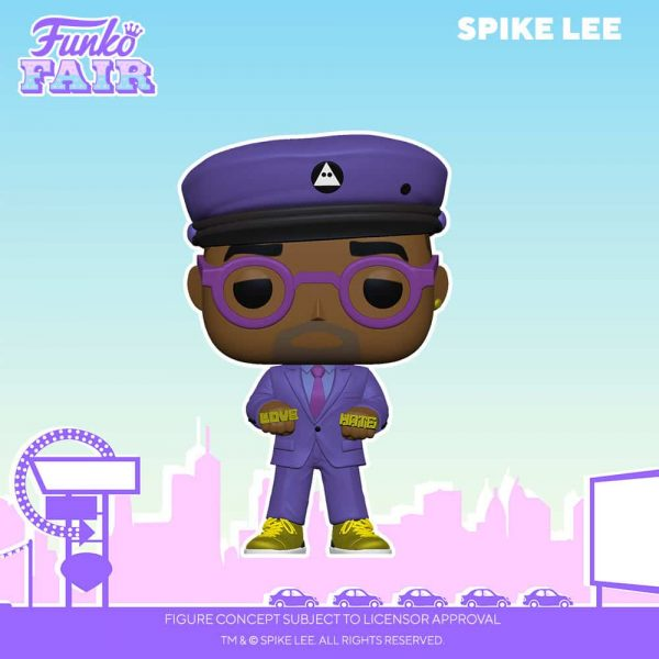 Funko Pop! Directors Spike Lee Purple Suit Funko Pop! Vinyl Figure