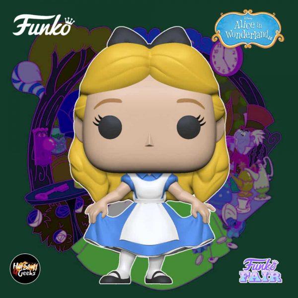Funko Pop! Disney Alice in Wonderland 70th Anniversary - Alice Curtsying Funko Pop! Vinyl Figure