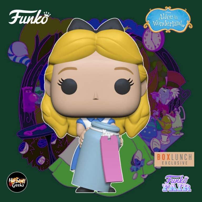Funko Pop! Disney Alice in Wonderland 70th Anniversary - Alice with Drink Me Bottle Funko Pop! Vinyl Figure - BoxLunch Exclusive