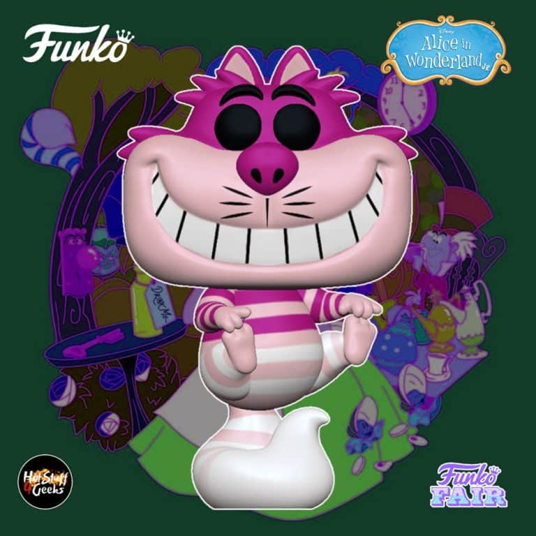 Funko Pop! Disney Alice in Wonderland 70th Anniversary - Cheshire Cat Translucent Funko Pop! Vinyl Figure