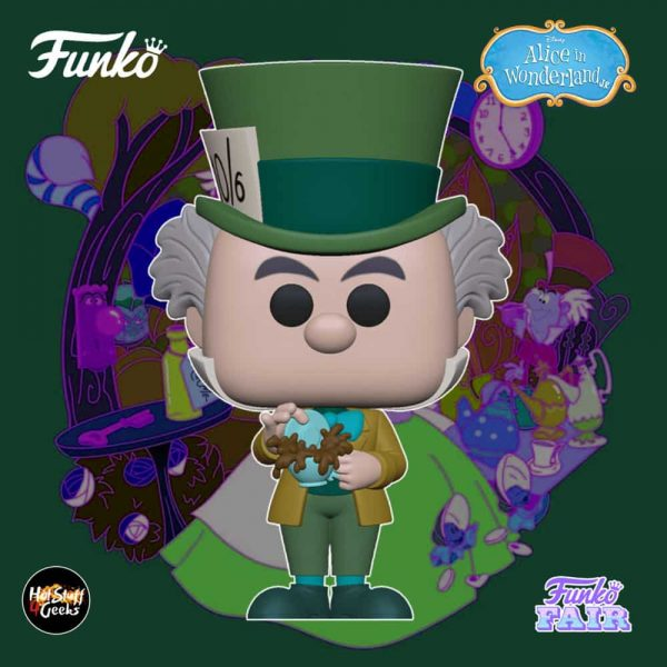 Funko Pop! Disney: Alice in Wonderland 70th Anniversary - Mad Hatter Funko Pop! Vinyl Figure