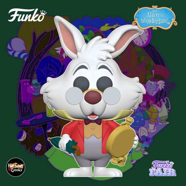 Funko Pop! Disney Alice in Wonderland 70th Anniversary - White Rabbit with Watch Funko Pop! Vinyl Figure