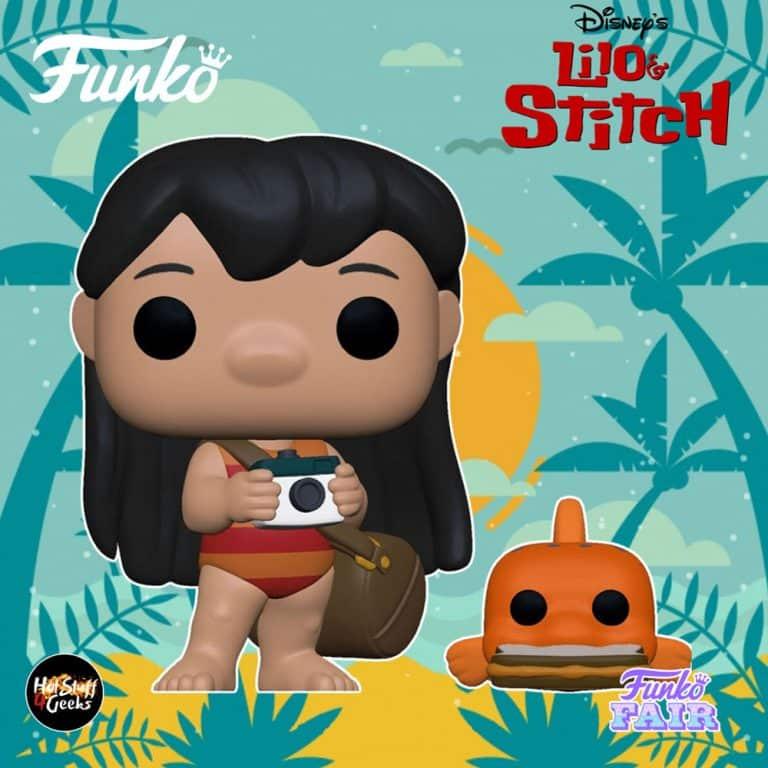 Funko Pop! Disney: Lilo & Stitch - Lilo with Pudge Funko Pop! Vinyl Figure