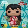 Funko Pop! Disney: Lilo & Stitch - Lilo with Scrump Funko Pop! Vinyl Figure