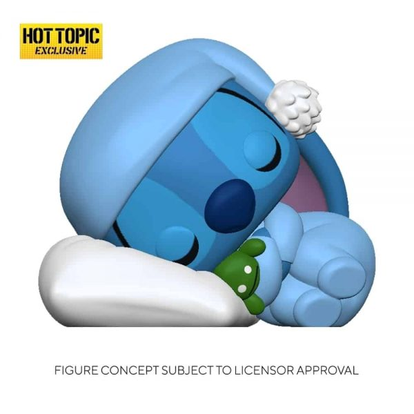 Funko Pop! Disney Lilo & Stitch - Sleeping Stitch Funko Pop! Vinyl Figure - Hot Topic Exclusive