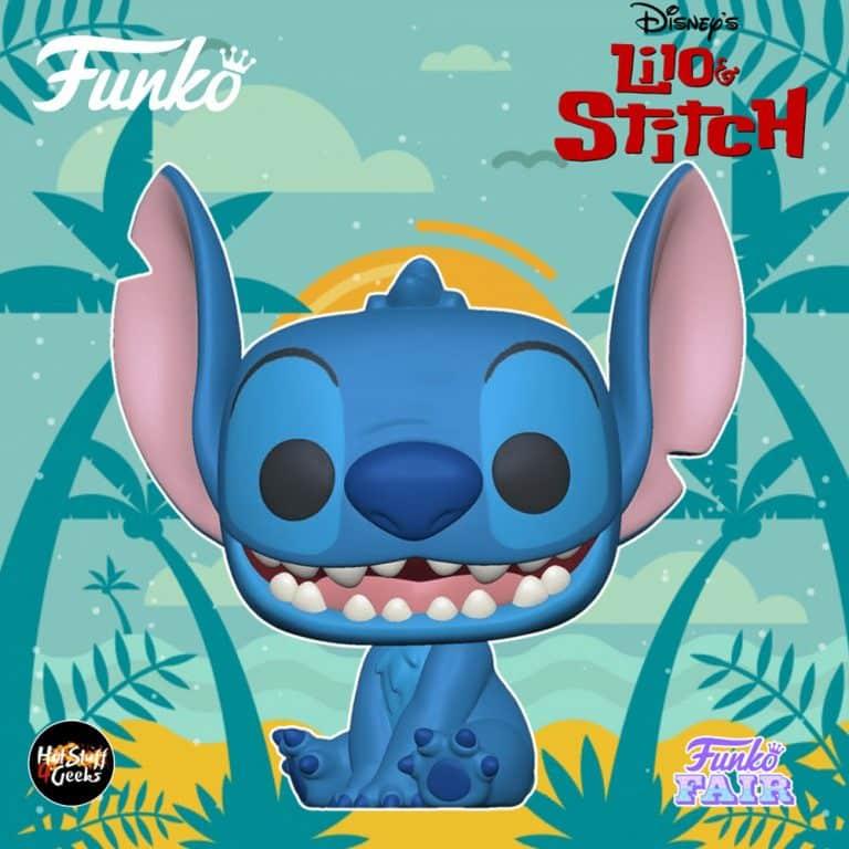 Funko Pop! Disney: Lilo & Stitch - Smiling Seated Stitch Funko Pop! Vinyl Figure