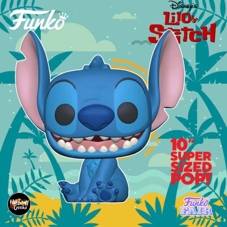 Funko Pop! Disney Lilo & Stitch - Stitch 10-Inch Funko Pop! Vinyl Figure