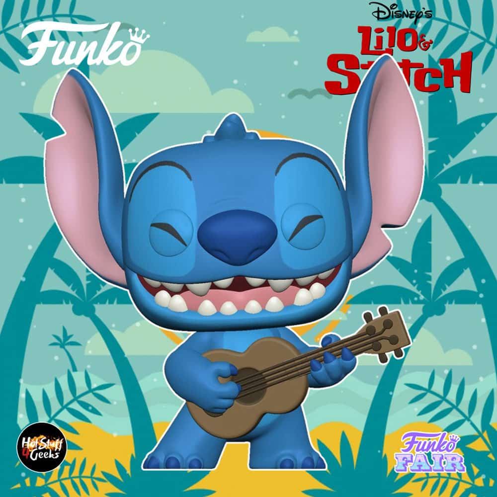 Funko Pop! Disney Lilo & Stitch - Stitch with Ukulele Funko Pop! Vinyl Figure