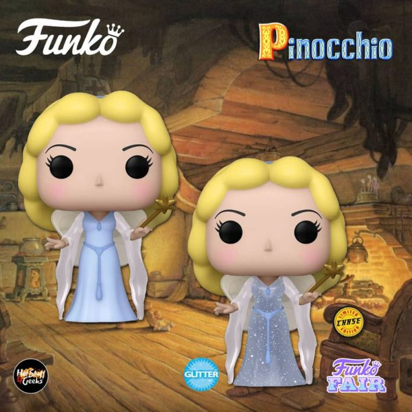 Funko Pop! Disney Pinocchio - Blue Fairy With Glitter Chase Variant Funko Pop! Vinyl Figure