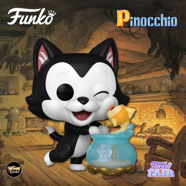 Funko Pop! Disney Pinocchio - Figaro Kissing Cleo Funko Pop! Vinyl Figure