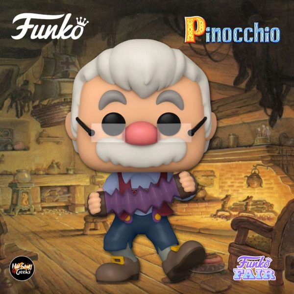Funko Pop! Disney Pinocchio - Geppetto with Accordion Funko Pop! Vinyl Figure
