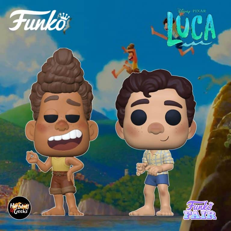Funko Pop! Disney Pixar: Luca - Luca and Alberto Funko Pop! Vinyl Figures