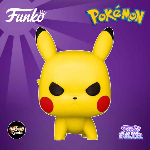 Funko Pop! Games Pokemon - Pikachu S6 (Attack Stance) Funko Pop! Vinyl Figure