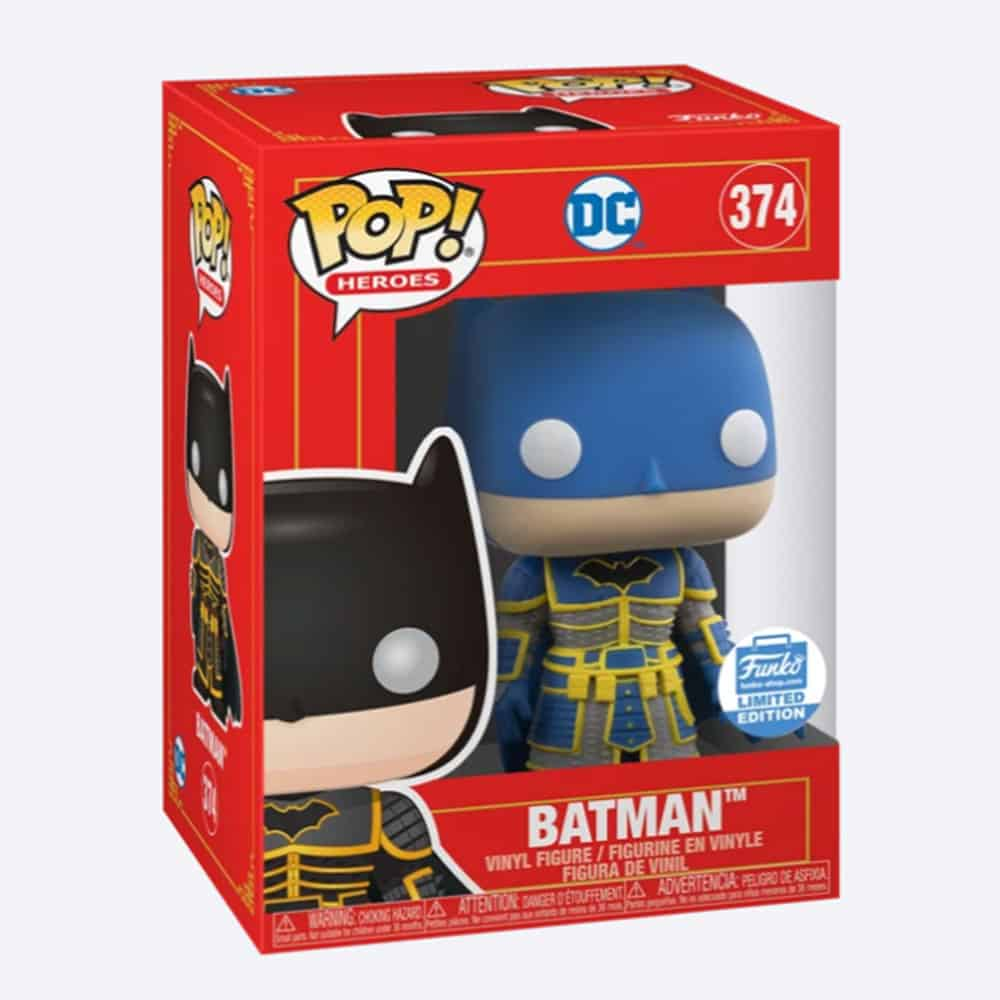 Funko Pop! Heroes DC Comics – Imperial Palace Batman (Blue) Funko Pop! Vinyl Figure - Funko Shop Exclusive