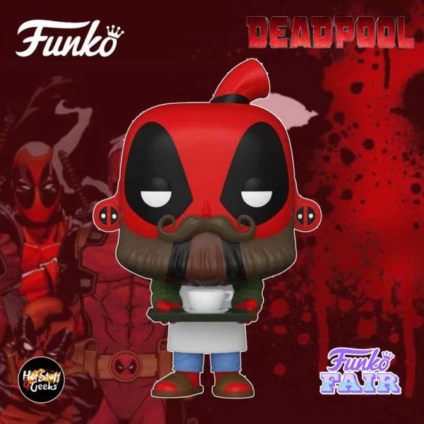Funko Pop! Marvel Deadpool 30th Anniversary - Coffee Barista Deadpool Funko Pop! Vinyl Figure
