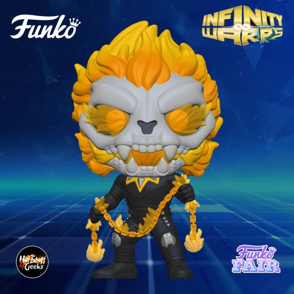 Funko Pop! Marvel Infinity Warps - Ghost Panther Funko Pop! Vinyl Figure