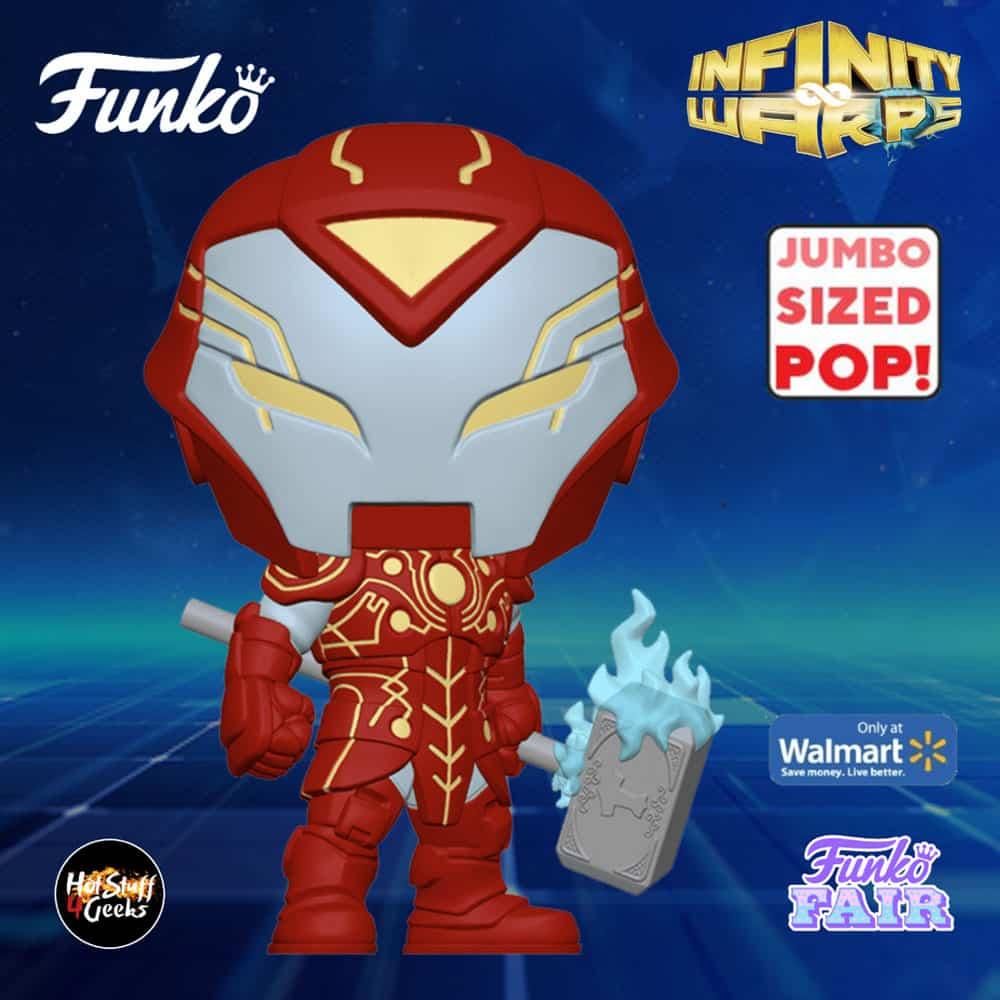 Funko Pop! Marvel: Infinity Warps - Iron Hammer 10-inch Jumbo Sized Funko Pop! Vinyl Figure - Walmart Exclusive