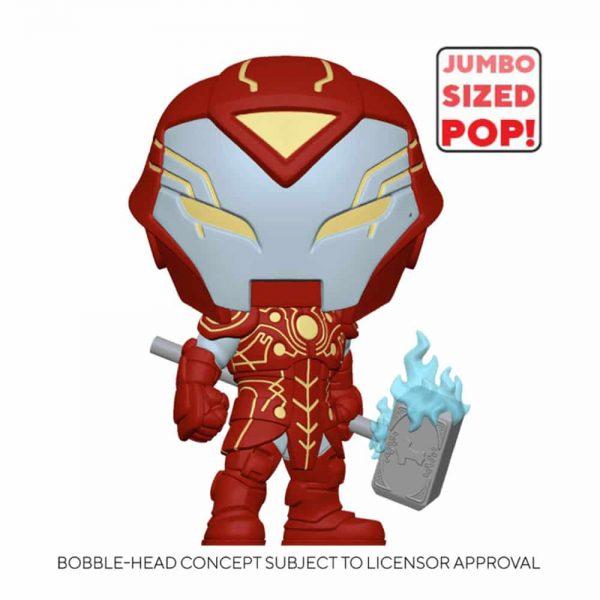 Funko Pop! Marvel Infinity Warps - Iron Hammer 10-inch Jumbo Sized Funko Pop! Vinyl Figure - Walmart Exclusive