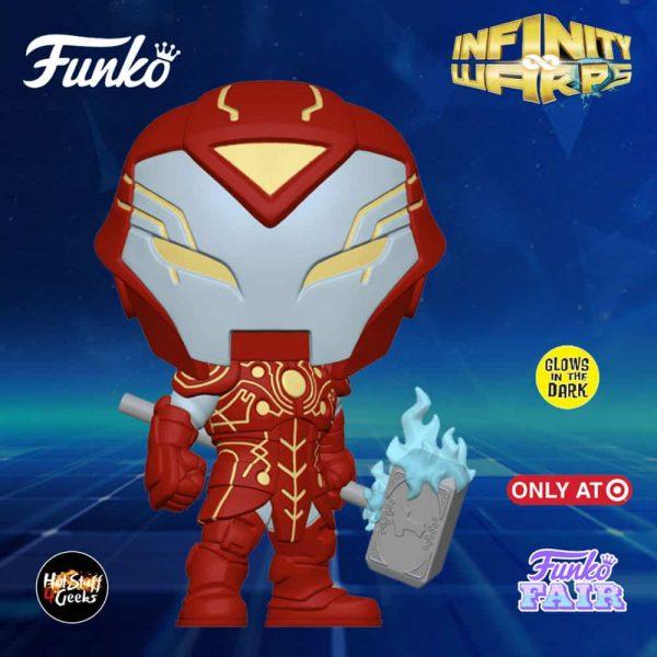 Funko Pop! Marvel Infinity Warps - Iron Hammer Glow-In-The-Dark (GITD) Funko Pop! Vinyl Figure - Target Exclusive