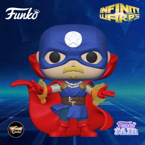 Funko Pop! Marvel Infinity Warps - Soldier Supreme Funko Pop! Vinyl Figure