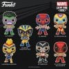 Funko Pop! Marvel Luchadores (Luche Libre) - El Furioso Hulk, El Animal Indestructible Wolverine, El Aracno Spider-Man, El Venenoide Venom, La Estrella Cosmica Captain Marvel, El Chimichanga De La Muerte Deadpool and El Heroe Iron Man Funko Pop! Vinyl Figures