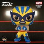 Funko Pop! Marvel Luchadores (Lucha Libre) - El Animal Indestructible Wolverine Funko Pop! Vinyl Figure